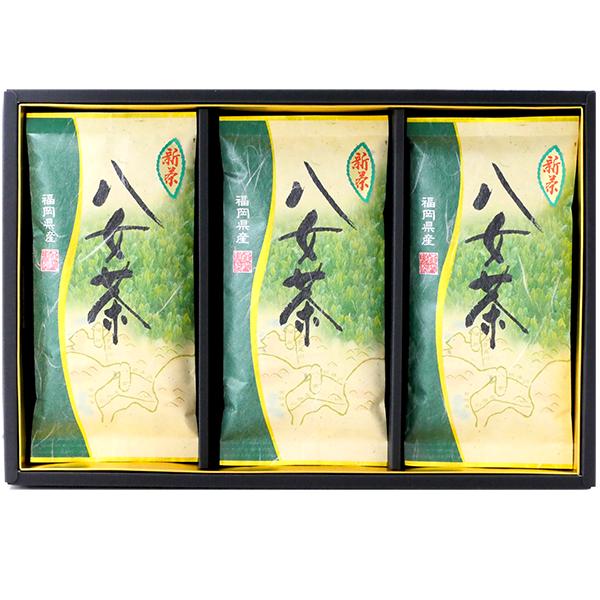 【ネット限定】八女新茶3本入り