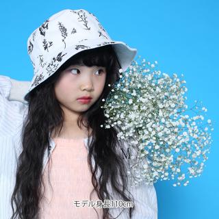 CAYA/イラストタッチな花柄ハット(ユニセックス)