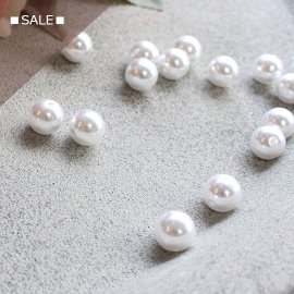 ■SALE■パールビーズ10mm:大袋/88粒