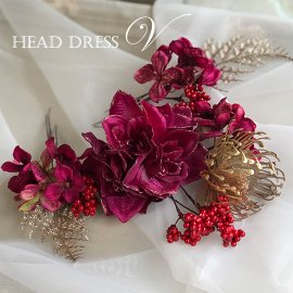 ヘッドドレス:V