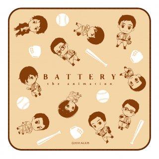 バッテリー ミニタオル