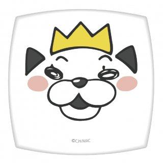 3月のライオン コンパクトミラー 【王さまニャー】