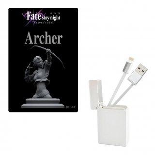 劇場版 Fate/stay night Heaven's Feel BOX収納型 USBケーブル iPhone用 アーチャー