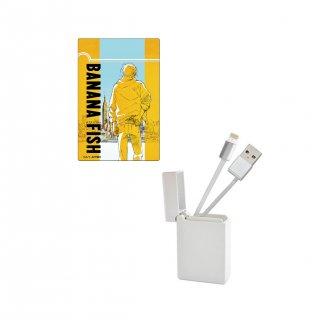 BANANA FISH BOX収納型USBケーブル ティザービジュアル iPhone用