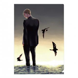 囀る鳥は羽ばたかない ヨネダコウ原作イラストアイテム クリアファイル B