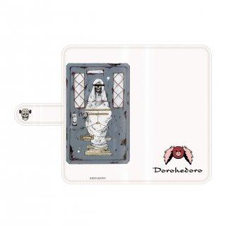 ドロヘドロ 手帳型スマートフォンケース 恵比寿ドアデザイン