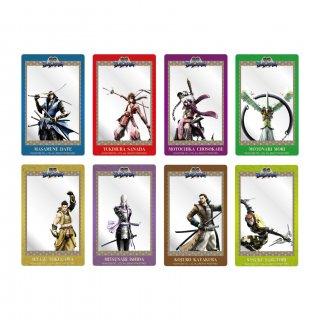 戦国BASARA トレーディングアクリルカード 全8種