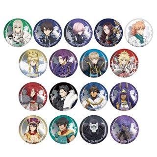 劇場版 Fate/Grand Order -神聖円卓領域キャメロット- 前編 Wandering; Agateram トレーディング缶バッジ 全17種