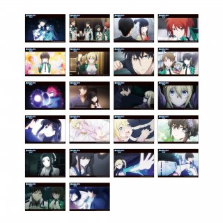 魔法科高校の劣等生 トレーディングブロマイドコレクション Vol.3 全22種(2枚セット)