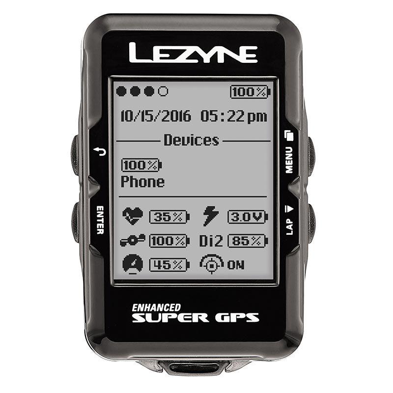 【lezyne/レザイン】SUPER GPS