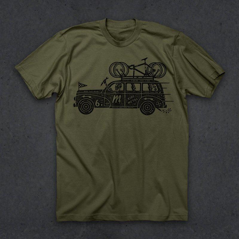 【twinsix/ツインシックス】Metal Mechnic Tシャツ