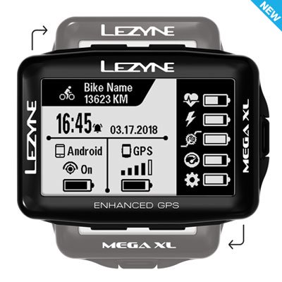 【lezyne/レザイン】MEGA XL GPS
