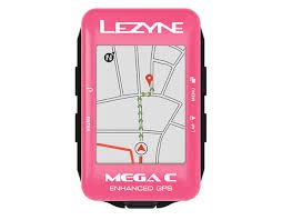【lezyne/レザイン】MEGA C GPS リミテッドカラー  PINK