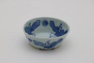 唐子文 楕円小鉢