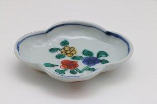 木瓜型 色絵小皿 - A
