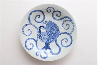タコ カレー皿