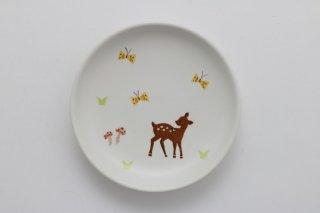 丸小皿 バンビ