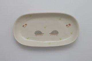 長皿 ハリネズミ