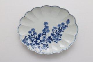 野菊楕円皿(6寸)