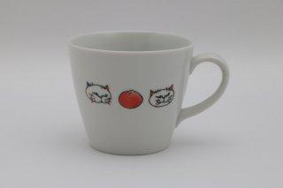 マグカップ ネコ ・フルーツ