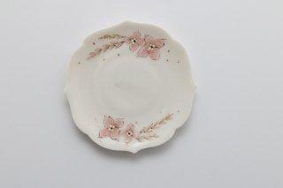花小皿 ピンク