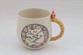 モノクロマグカップ I