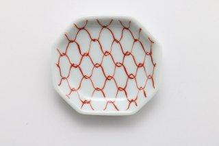 八角豆皿 網