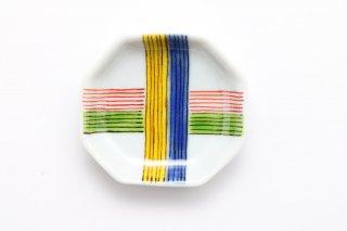 八角豆皿 糸巻