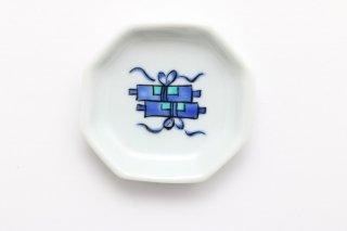 八角豆皿 巻物