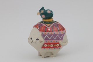 <img class='new_mark_img1' src='https://img.shop-pro.jp/img/new/icons12.gif' style='border:none;display:inline;margin:0px;padding:0px;width:auto;' />インド猫とラリ鳥 ふかみどり