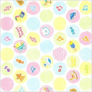 【包装紙】 カラードロップス