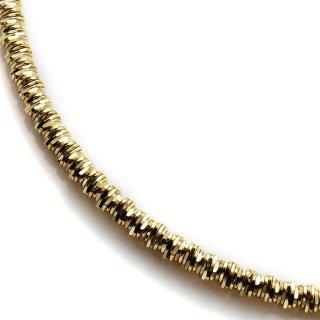 10K イエローゴールド ネックレス 幅3.5mm 46cm〜51cm