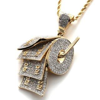 ダイヤモンド 10K イエローゴールド ペンダントヘッド  SJ