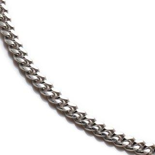 シルバー ネックレス 幅3.3mm 45cm〜60cm