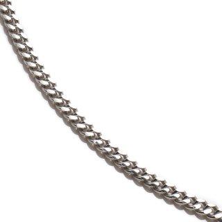 シルバー ネックレス 幅2mm 40cm〜55cm