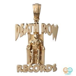 DEATH ROW RECORDS × AVALANCHE 10K イエローゴールド 3Dペンダントヘッド