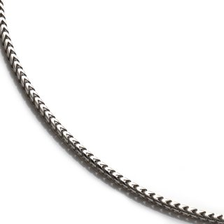 シルバー ネックレス 幅1.5mm 41cm〜56cm