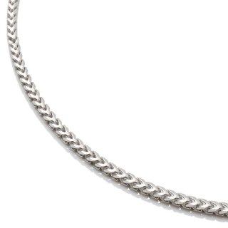シルバー ネックレス 幅1.5mm 40cm〜50cm
