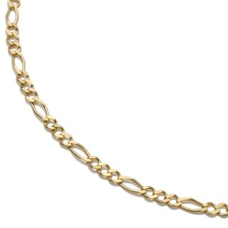 10K イエローゴールド ネックレス 幅2.8mm 45cm〜60cm