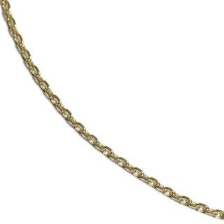 10K イエローゴールド ネックレス 幅1mm 40cm,45cm