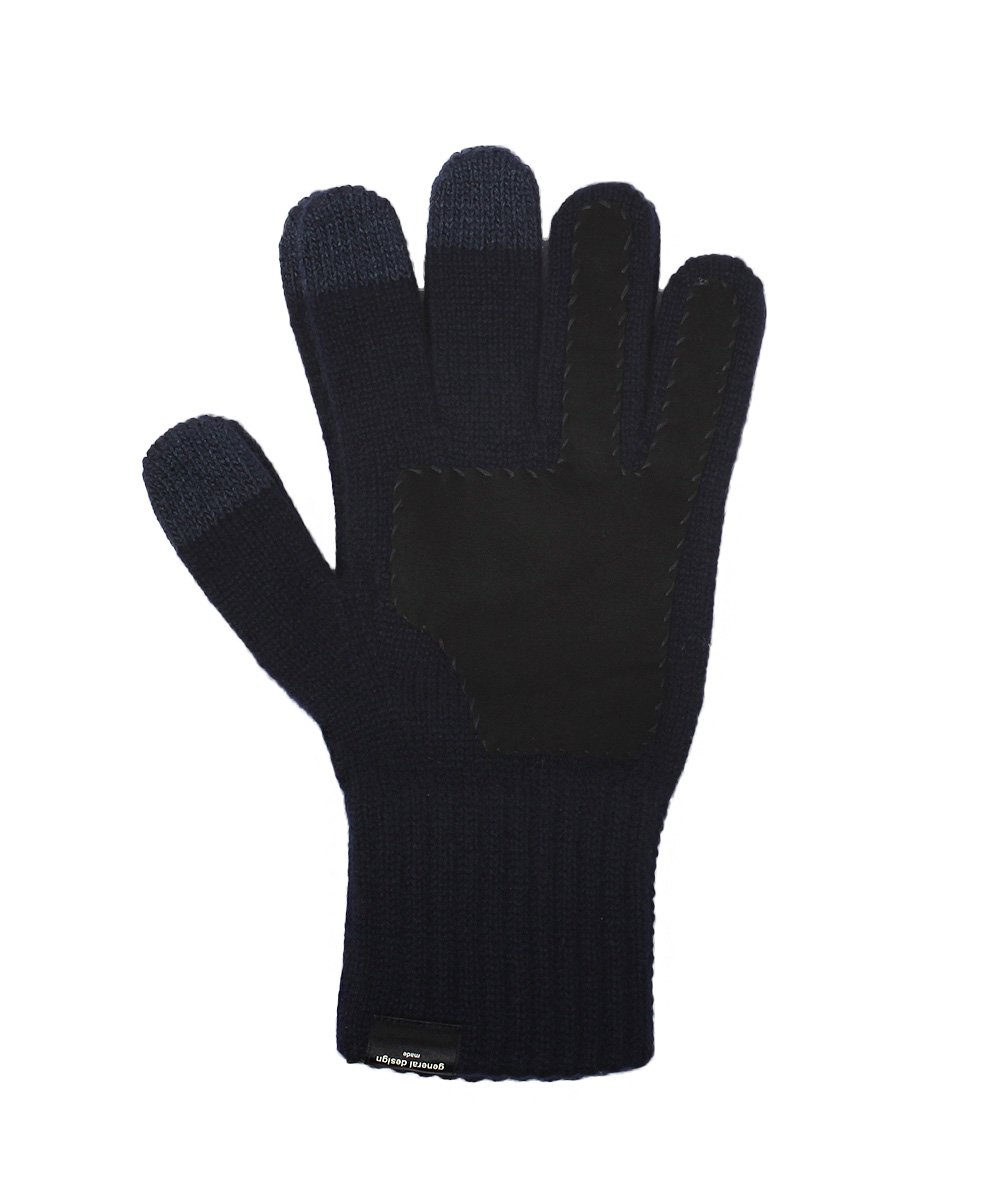 CASHMERE x LEATHER TOUCHPANEL GLOVE 詳細画像1
