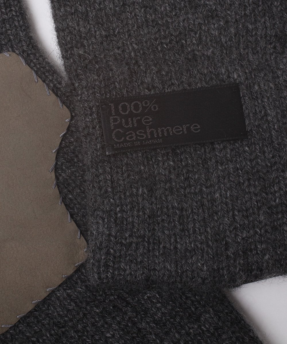 CASHMERE x LEATHER TOUCHPANEL GLOVE 詳細画像5