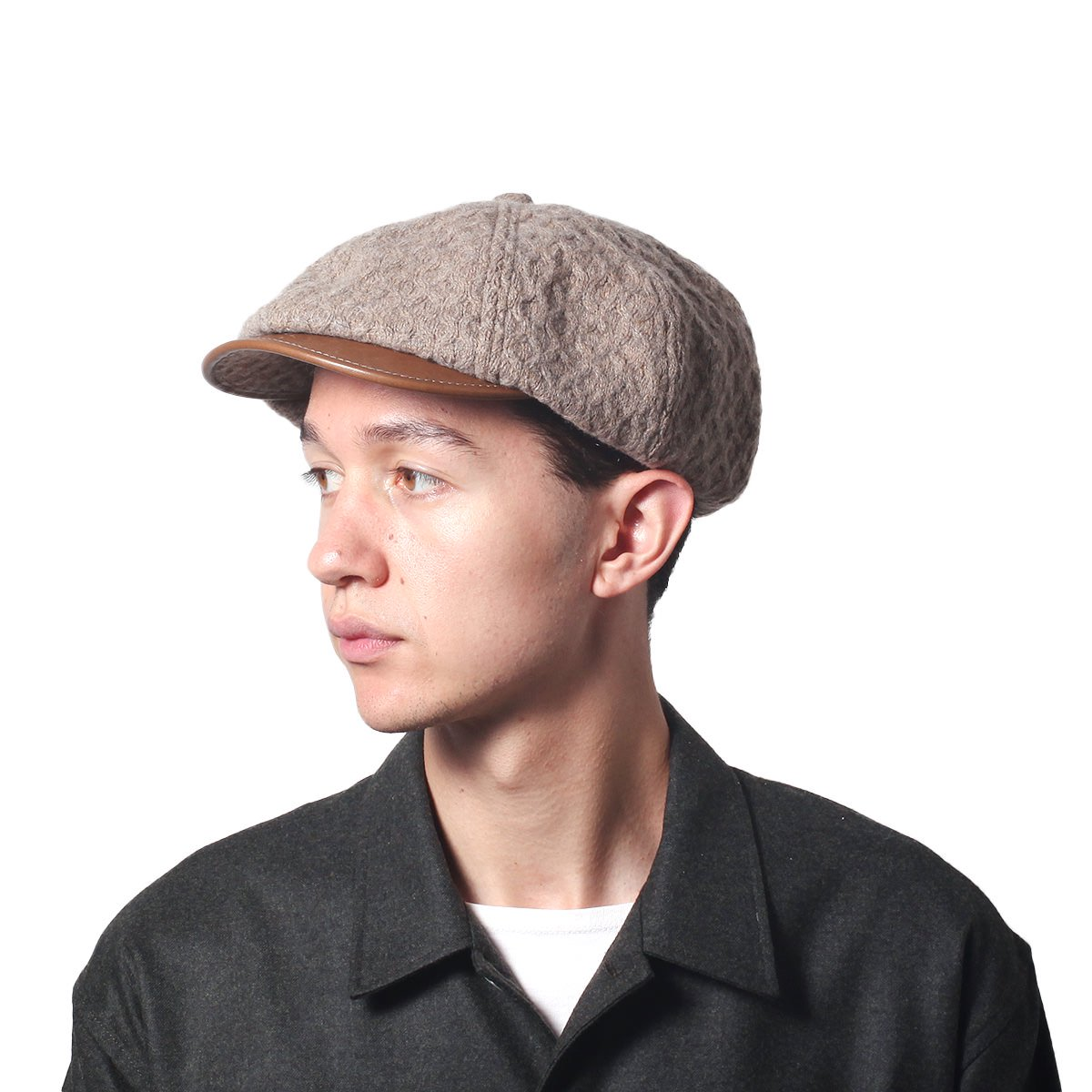 LEATHERxKNIT-TEXTILE H-CAS 詳細画像6