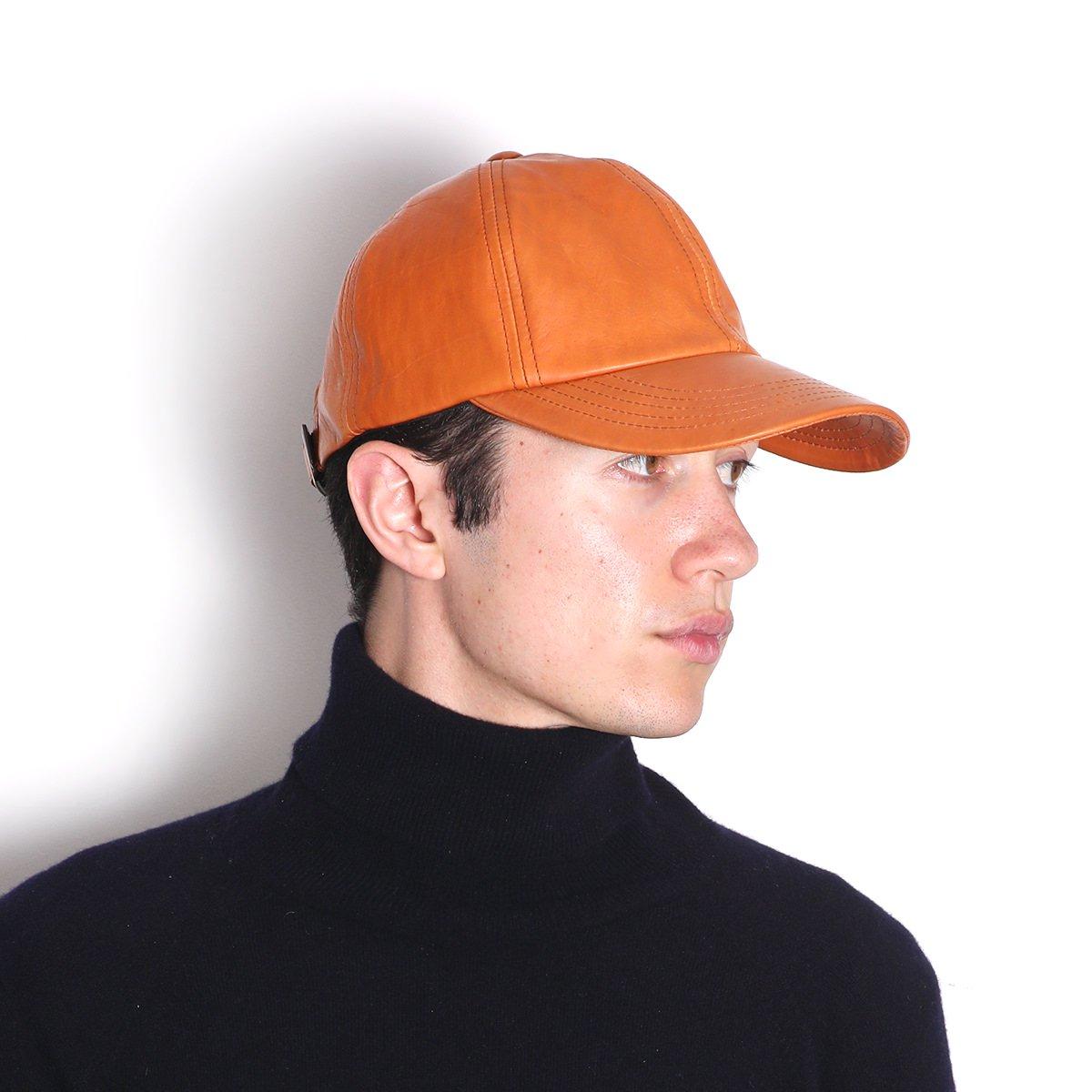 【SALE】LEATHER CAP 詳細画像7