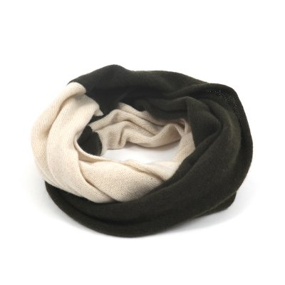 PURE CASHMERE 2TONE TWISTSNOOD