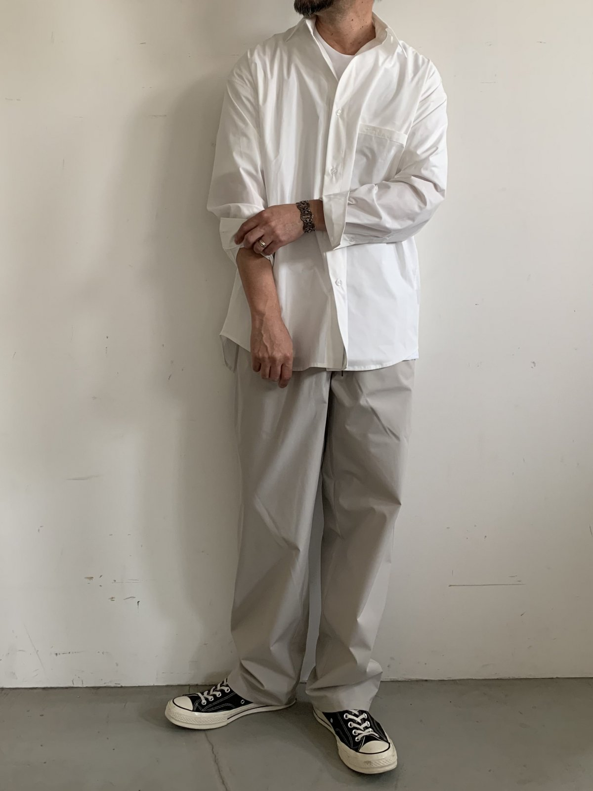 Et baas OVER SIZE SHIRTS 詳細画像1