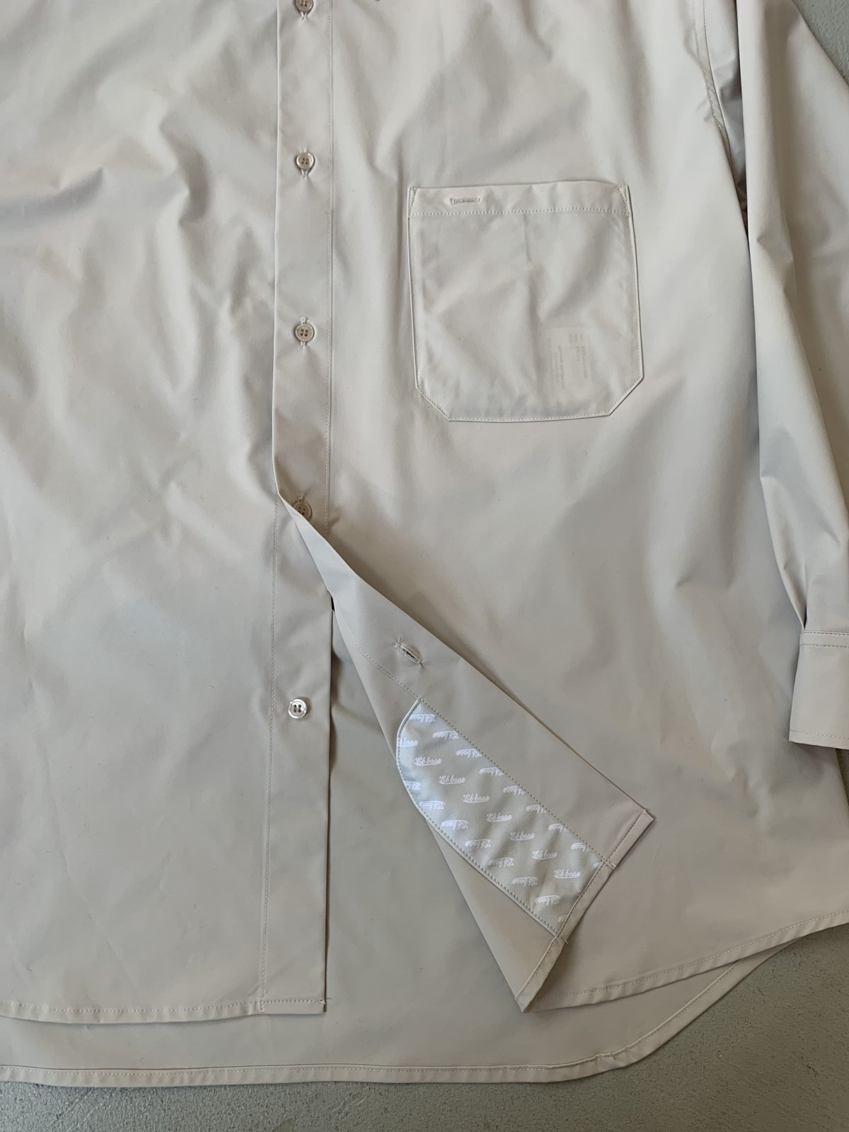 Et baas OVER SIZE SHIRTS 詳細画像21