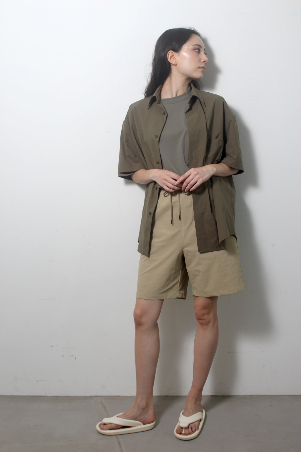 S/S Over size SHIRTS(SOLOTEX) 詳細画像11