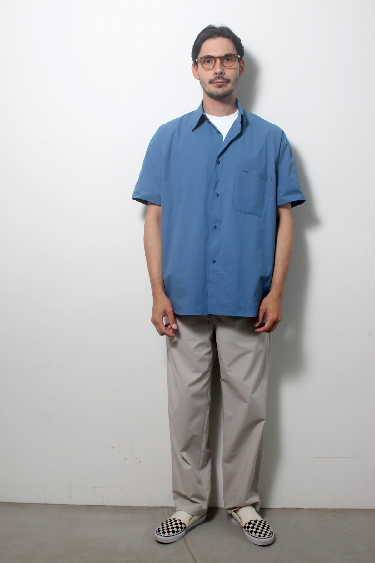 S/S Over size SHIRTS(SOLOTEX) 詳細画像13