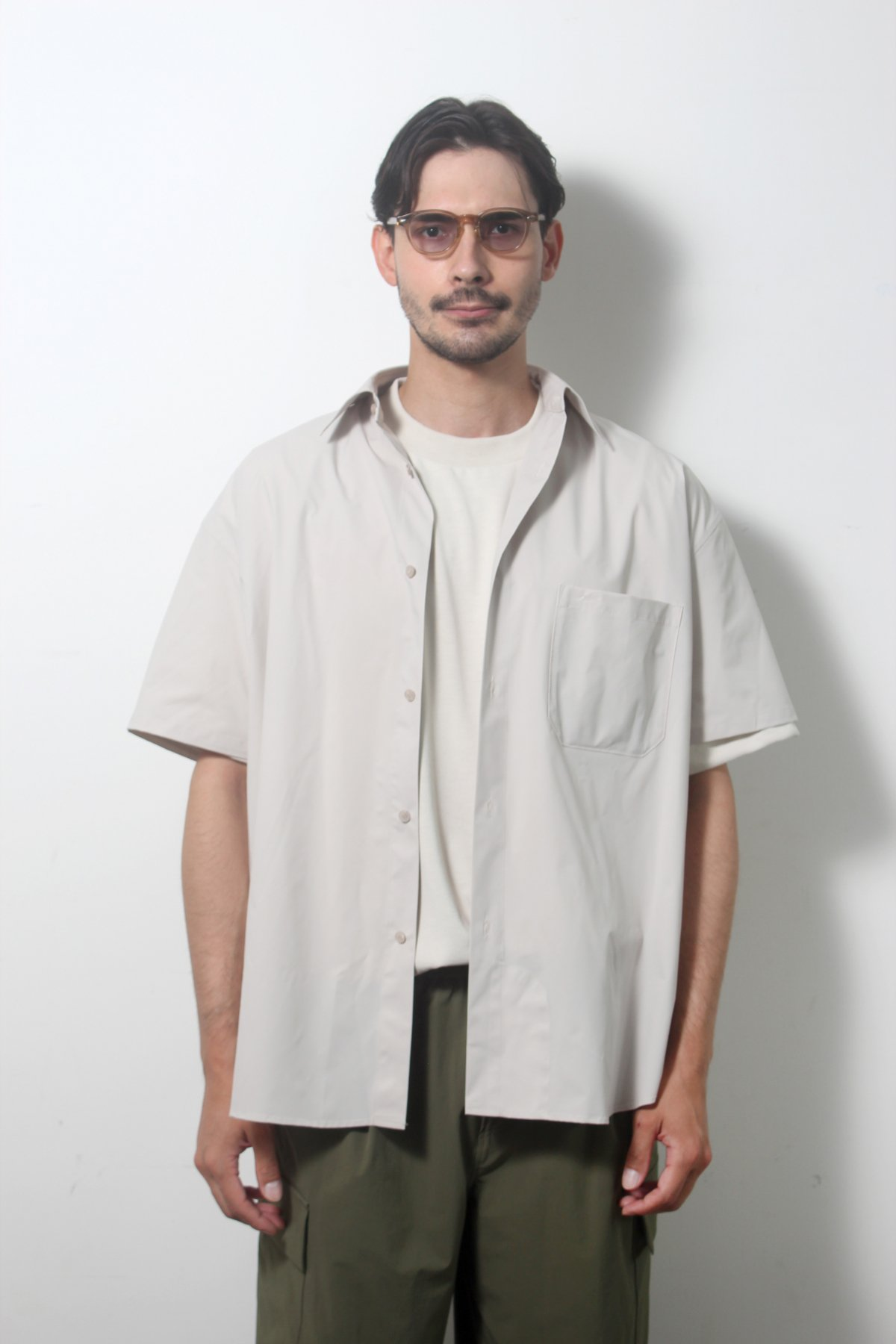 S/S Over size SHIRTS(SOLOTEX) 詳細画像6